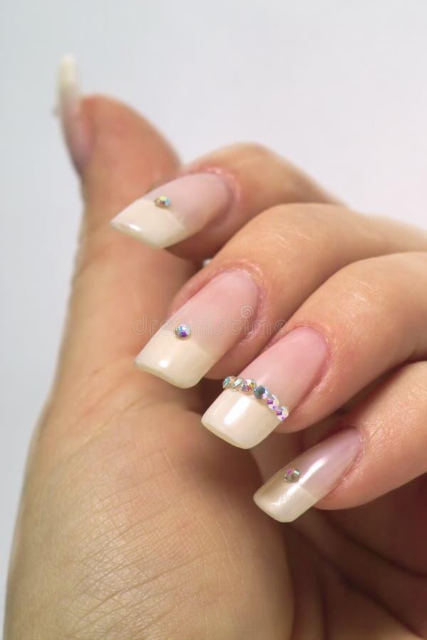 Download Fingernails stock photo. Image of finger, french, elegance - 213856