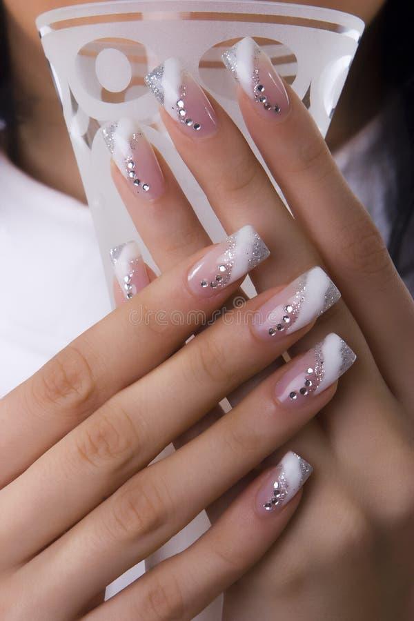 fingernails arkivbilder