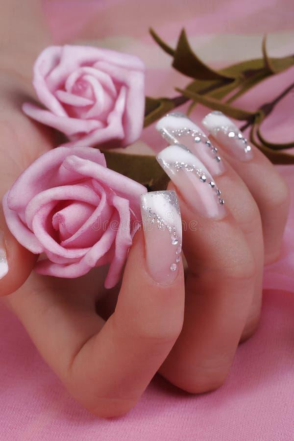 fingernails fotografering för bildbyråer