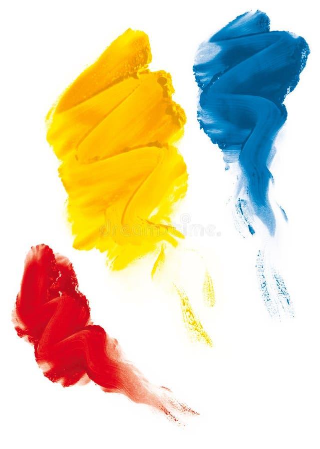 Fingerpaint illustration stock