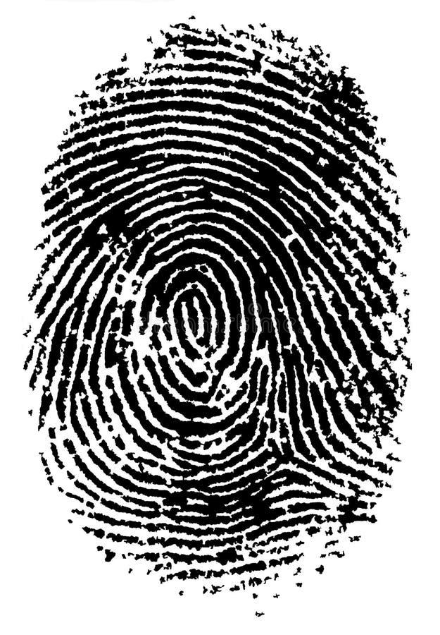 FingerPrint 2 stock illustration