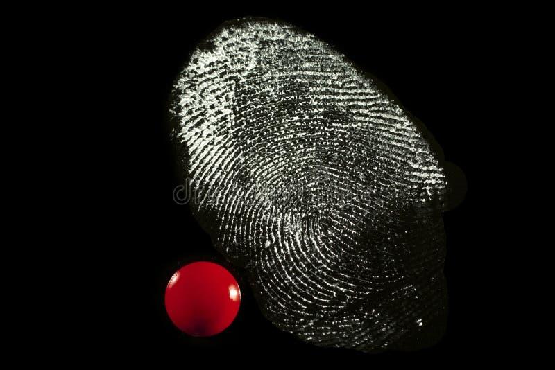 fingerprint obrazy royalty free