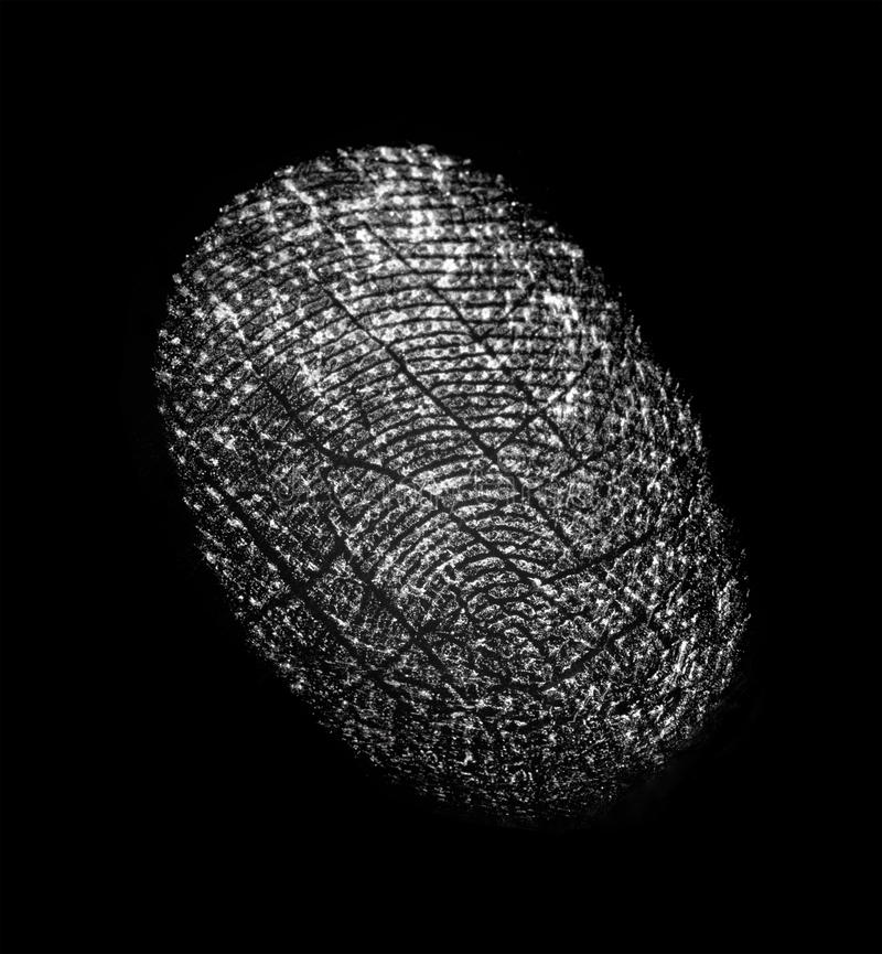 fingerprint images libres de droits