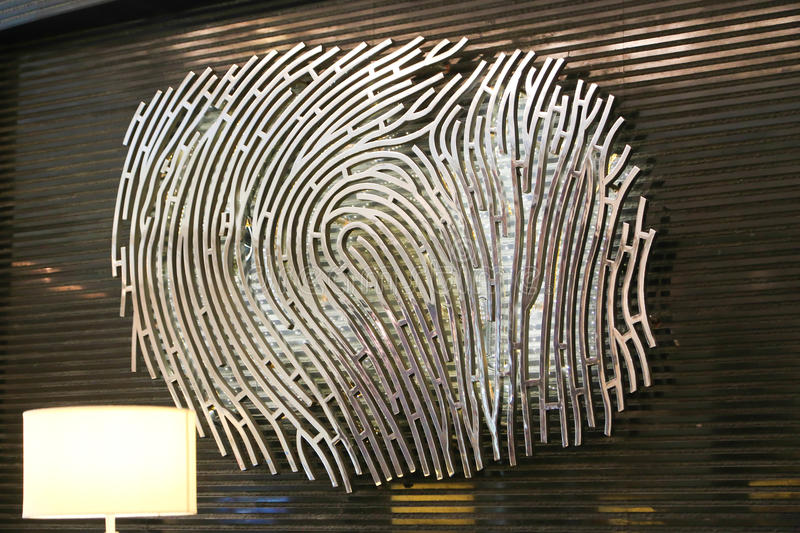 fingerprint photo libre de droits