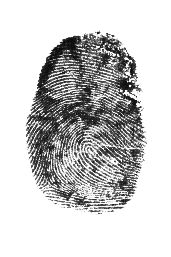 Free Fingerprint Royalty Free Stock Images - 7859729