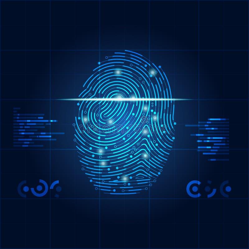fingerprint απεικόνιση αποθεμάτων