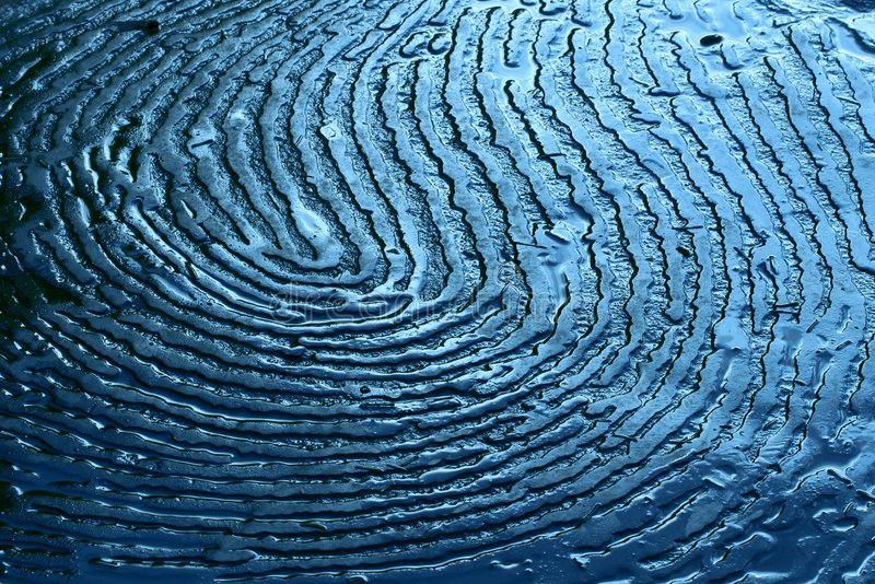 Fingerprint abstract stock photography