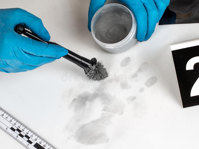 Download Fingerprint stock photo. Image of check, evidence, dust - 39903250