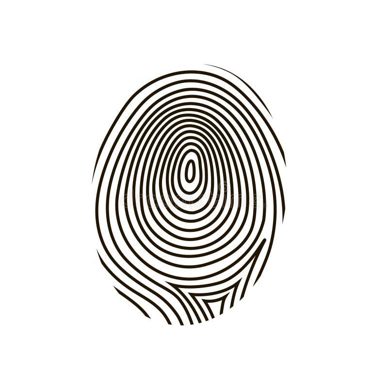 fingerprint vector stock vector illustration of macro 48895601 rh dreamstime com fingerprint vector art fingerprinting victoria