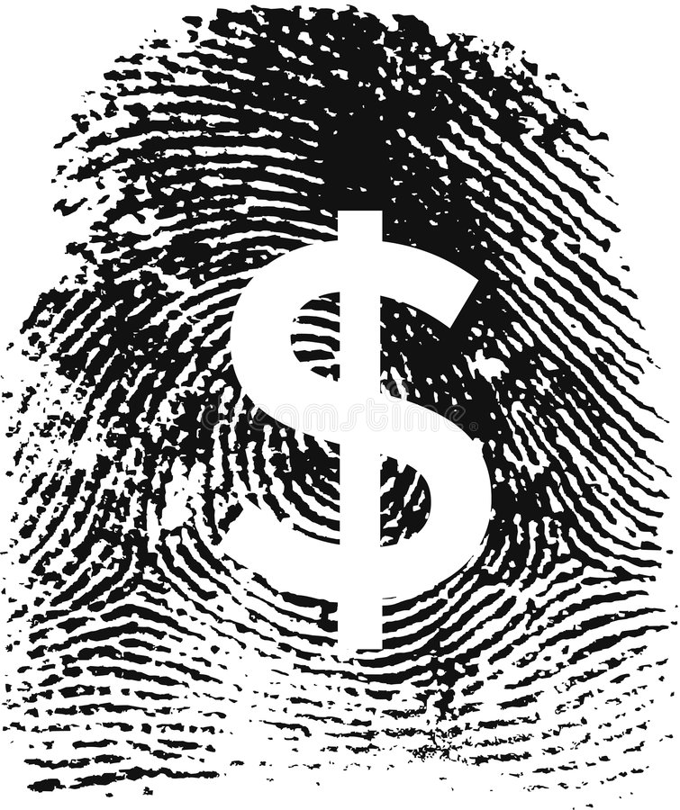 Fingerprint19detalles vector illustratie