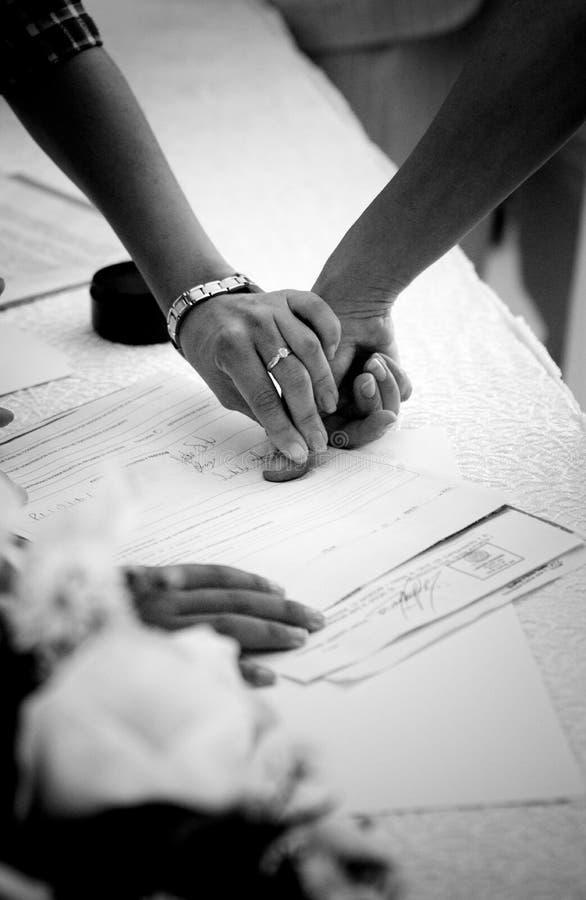 fingerprinting fotografering för bildbyråer