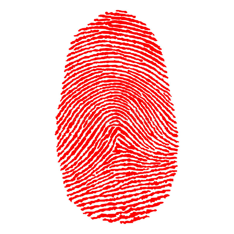 Fingerprints vector illustration