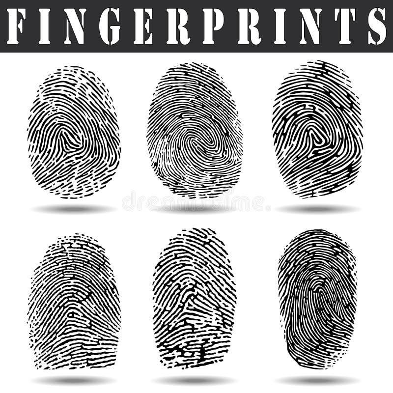 fingerprints ελεύθερη απεικόνιση δικαιώματος