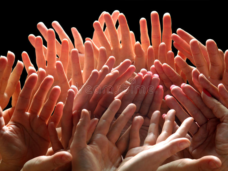 Download Fingers stock image. Image of flat, finger, people, team - 13154445