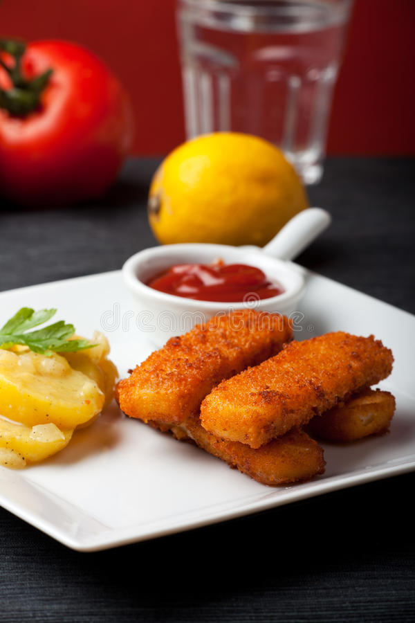 Download Fingers stock photo. Image of four, tasty, finger, fish - 17953478