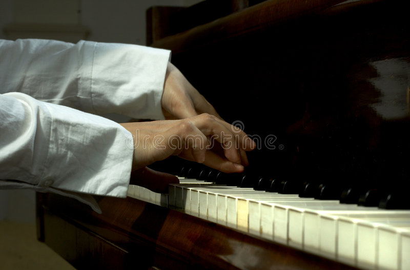 Download Fingers Of A Piano Teacher 2 Stock Image - Image of esteemed, instrument: 1721823