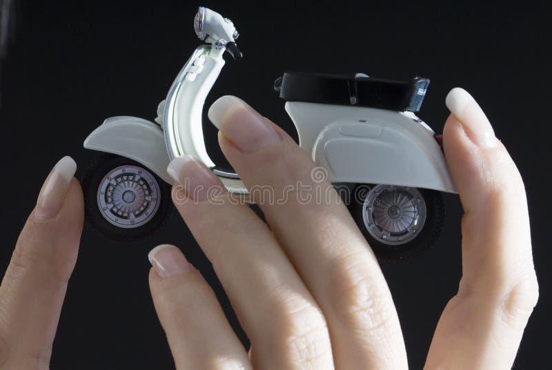 fingers vespa στοκ εικόνα με δικαίωμα ελεύθερης χρήσης