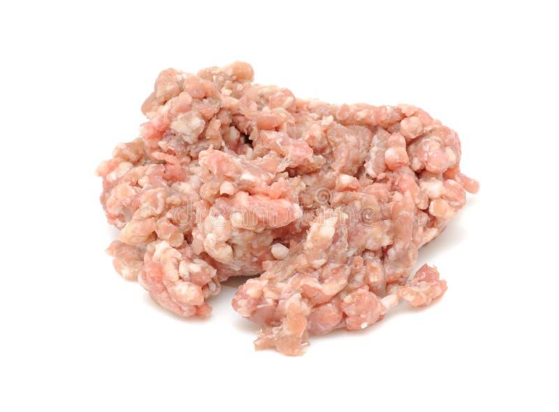 finhackad meat royaltyfri fotografi