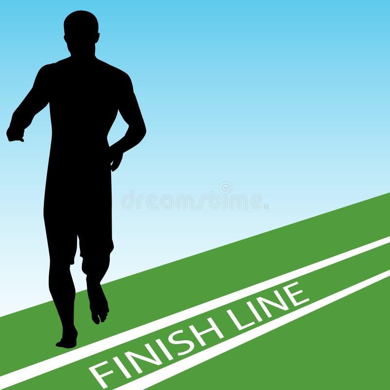 Download Finish Line stock vector. Image of vector, racing, winner - 16457487