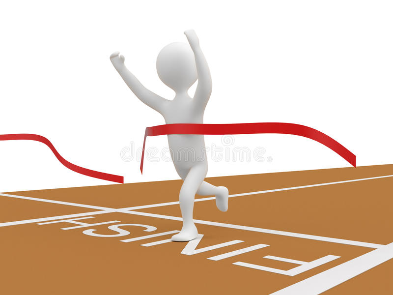 Download Finish Line Royalty Free Stock Photo - Image: 19483075