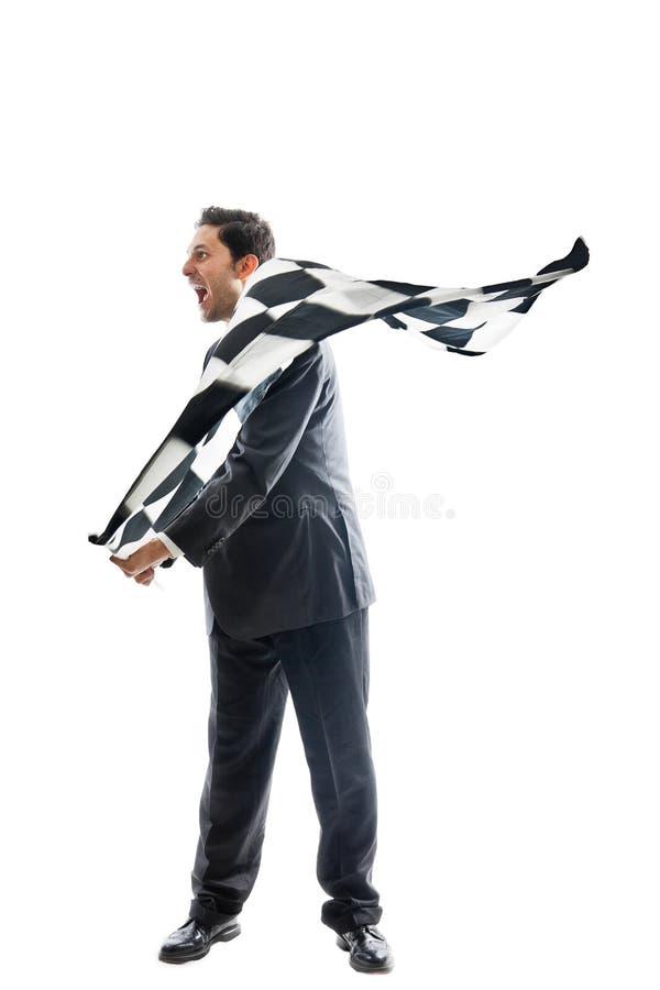 Download Finish! stock image. Image of exulting, motorized, leader - 32331927