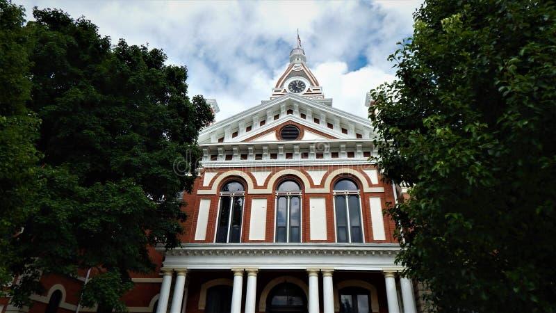 Livingston County Courthouse Pontiac Illinois royalty free stock photography