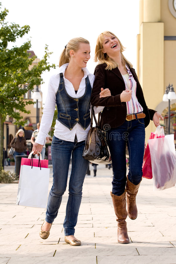 Free Finished With Shopping Royalty Free Stock Photography - 6771517