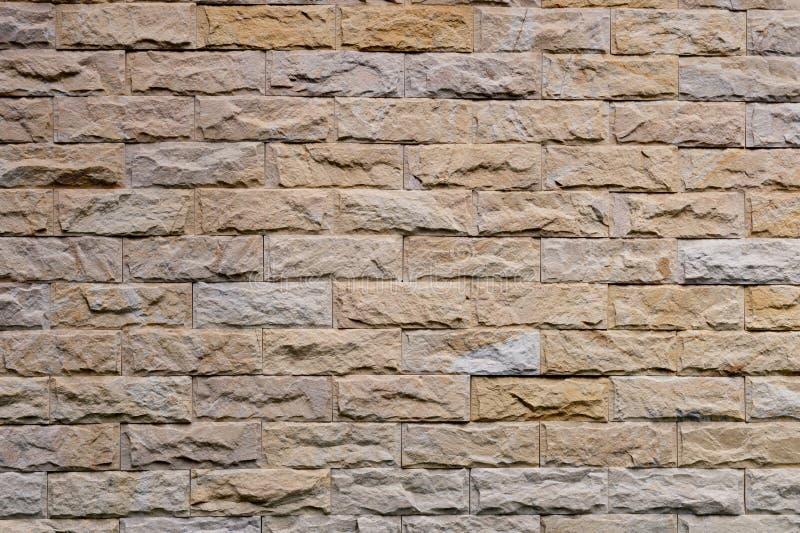 Finishing grey brown wall stone panel royalty free stock photos