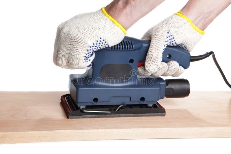 Finishing sander stock image