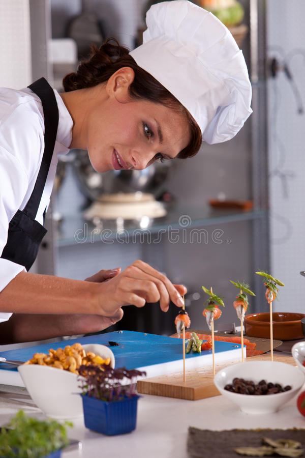 Download Finishing touch stock photo. Image of chef, lifestyle - 16636874