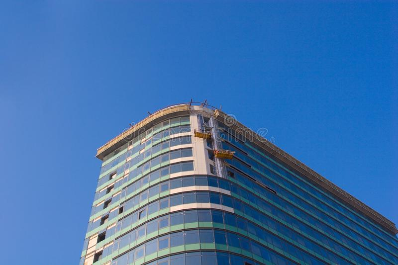 Download Finishing Works On Building Construction Stock Image - Image: 8250759