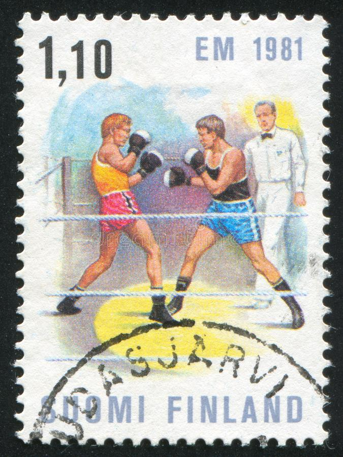 Boxing Match royalty free stock photography