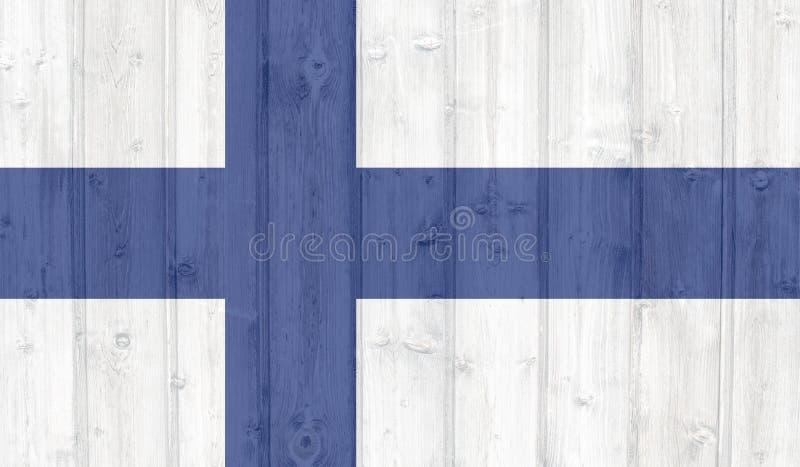finland flaggagrunge arkivfoton