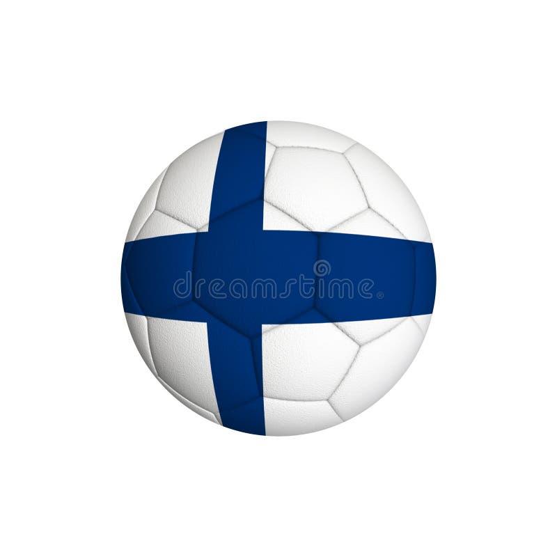Finland fotboll royaltyfri fotografi