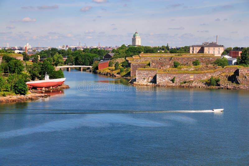 finland helsinki suomenlinna royaltyfri fotografi