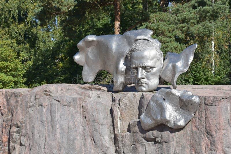finland Helsinki zabytku sibelius zdjęcia royalty free