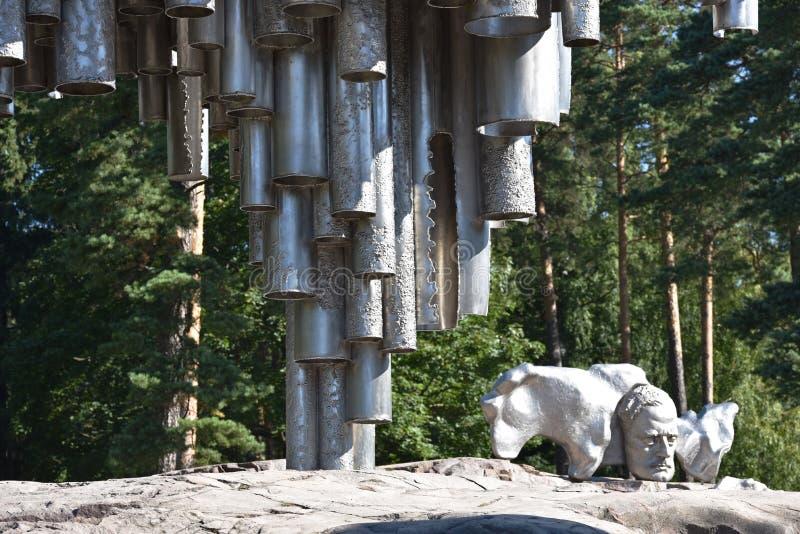 finland Helsinki zabytku sibelius obraz stock