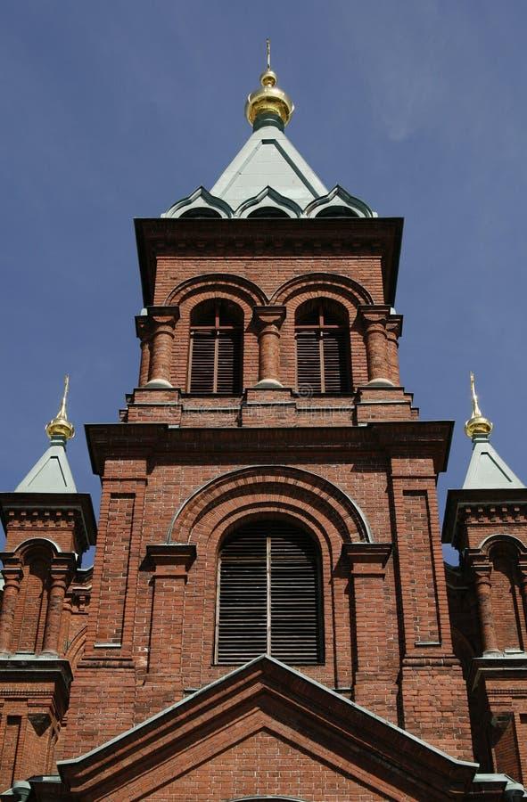 finland katedralny uspenski ortodoksyjny rosyjski zdjęcia royalty free