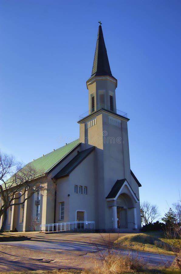 finland kościelny hanko zdjęcia royalty free