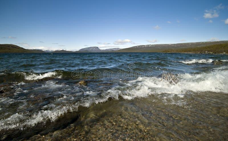 finland lake royaltyfri foto