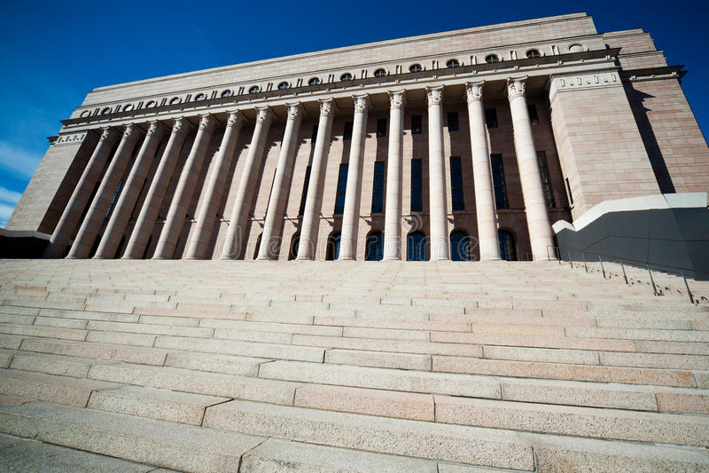 Download Finland parlament arkivfoto. Bild av demokrati, kolonn - 19798498