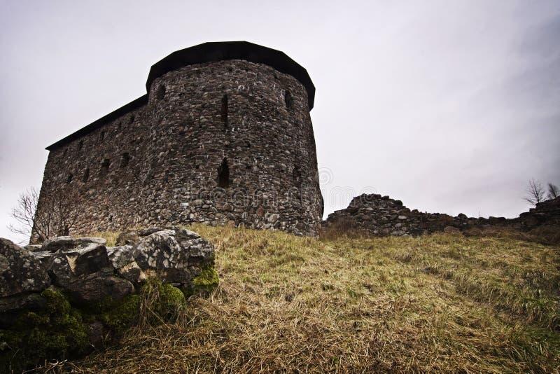 Finland: Raseborg slott royaltyfria foton
