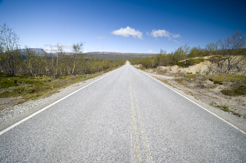 Finland road royalty free stock photography