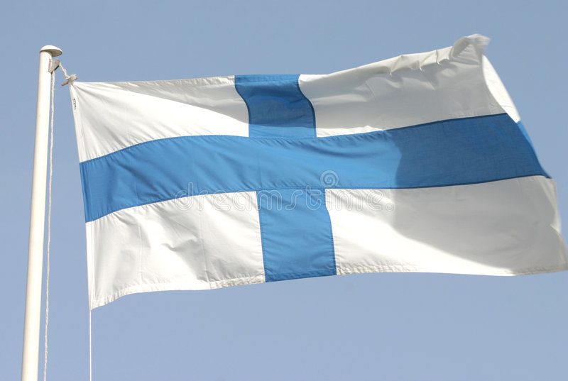Download Finland's flag stock photo. Image of cross, flag, helsinki - 33106