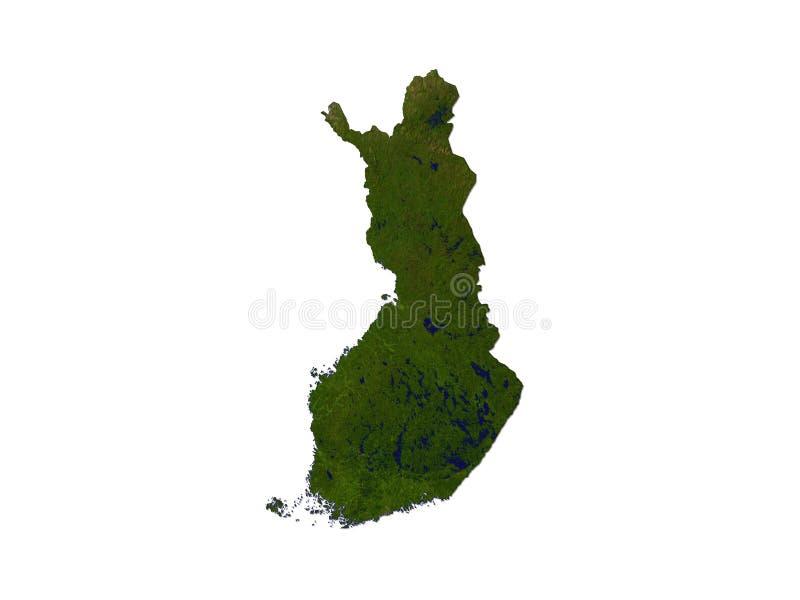 Download Finland On White Background Stock Illustration - Image: 6961679