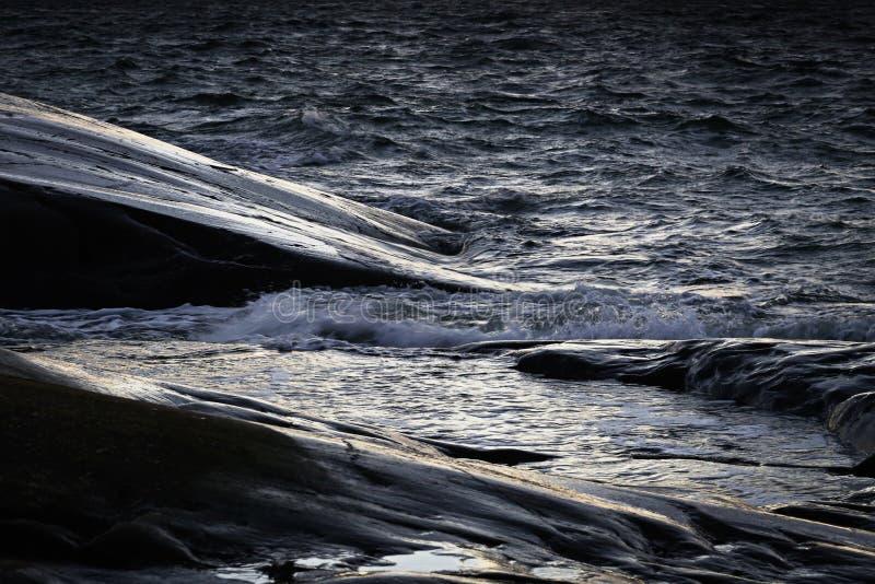 Finlandia: Costa del mar Báltico fotografía de archivo