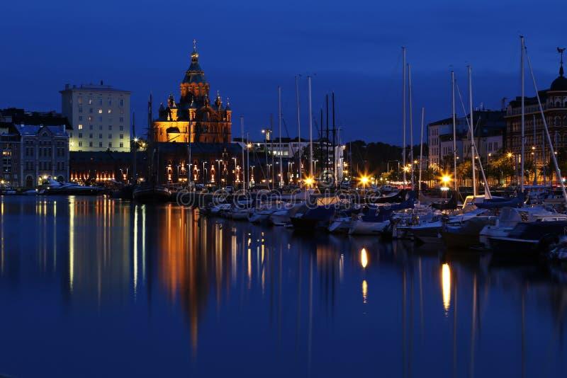 Finlandia: Helsínquia azul imagem de stock