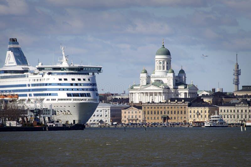 Finlandia: Helsínquia do mar imagens de stock