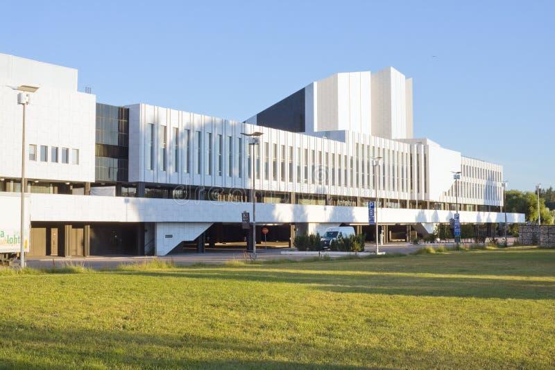 Finlandia Konzertsaal stockfoto