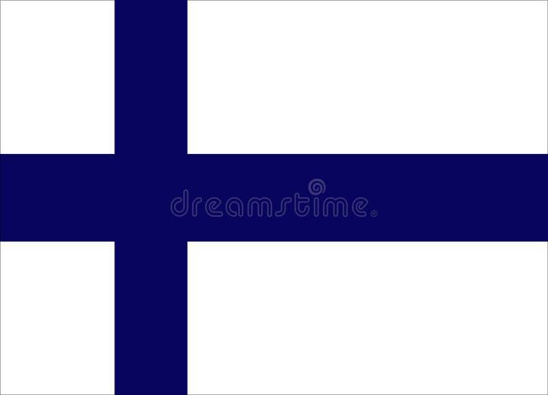 finlandia krajowe flagi zdjęcie royalty free